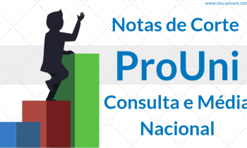 Notas de Corte Prouni – Consulta e Média Nacional