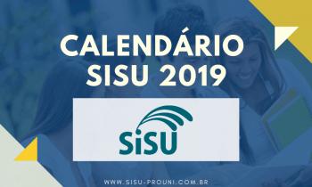 Calendário SISU 2019