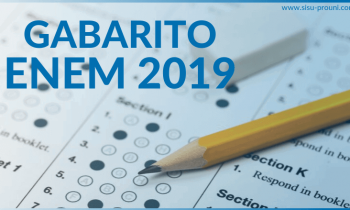Confira seus acertos com o Gabarito ENEM 2019!