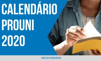 Cronograma PROUNI 2020 – Confira as datas!