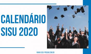 Conheça o Calendário SISU 2020! Datas Importantes!