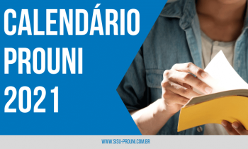 Confira as datas Cronograma PROUNI 2021!