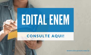 Edital ENEM 2020 – Confira agora mesmo!